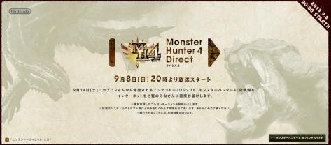 Monster Hunter 4 Nintendo Direct