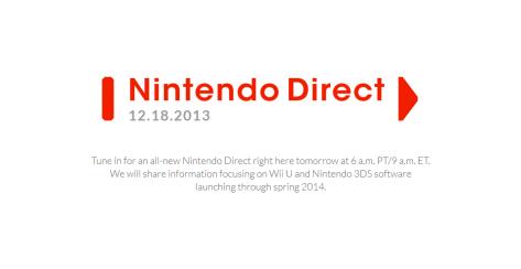 Nintendo Direct 1218